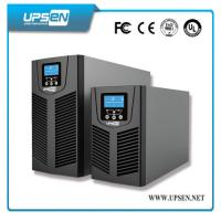 24VDC to 220VAC Uninterrupted Power Supply , Solar Online UPS Power with PV Input Manufactures