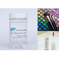 Cosmetic Raw Material Silicone Dimethicone Oil For Skin Protection / Hair Sprays Manufactures
