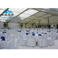 Transparent PVC Cover Outside Event Tents Selectable Size For Wedding Ceremony Manufactures