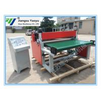 China Paper Fabric Automatic Roll Slitting Machine PLC Control System Non - Standard Custom on sale