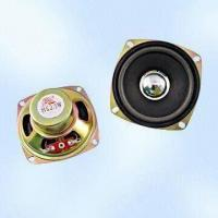 3W Raw Loudspeaker with Paper Cone, Measuring 78 x 78mm Manufactures