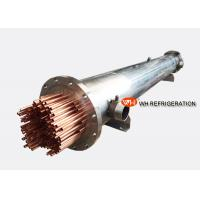 China Marine Refrigeration Shell and Tube Heat Exchanger , Water Cooled Evaporator on sale