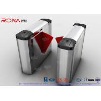 304 Stainless Steel Heavy Duty Automatic Flap Barrier Turnstile For Entrance & Exit Control System Manufactures