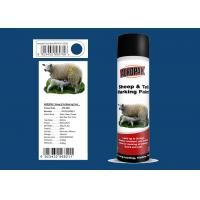 Futian Blue Color Marking Spray Paint , Sheep Marking Paint With ISO90001 Certification Manufactures