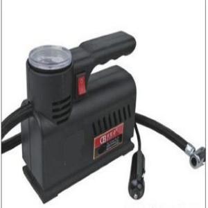 Dc12v Plastic Vehicle Air Compressors , Black Shock Portable Air Pump Yf632 Manufactures