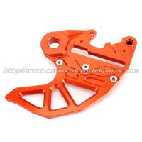 Dirt Bike Parts KTM Rear Disc Guard SX EXC 6061 Aluminum Orange Silver Blue Manufactures