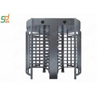 Stainless Steel Full Height Turnstiles Door ,  Pedestrian Access Turnstile Barrier Manufactures