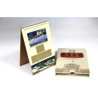 Wire-O binding wall Personalized Calendar Printing With Customized Logo Manufactures