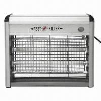 16W Electric Insect Killer with Two 8W UV LED Tube, 2,100V Voltage Manufactures