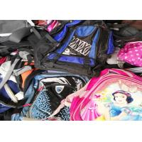 Mixed Size Used School Bags Colorful Holitex For All Seasons Health Certified Manufactures