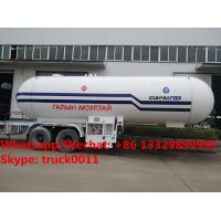 HOT SALE! lower price with higher quality 2018s new designed 20MT bulk propan gas tank semitrailer, lpg gas tank trailer Manufactures
