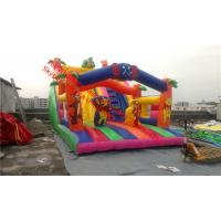 inflatable bouncer  with slide Inflatable Bounce House and Slide Combo Manufactures