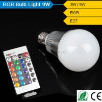 CE& Rohs rgb 9w led light bulb china manufacturer for bed room Manufactures