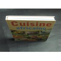 Health Note Book / Cook Book Printing Pantone Color A4 B5 Case Bound Spot UV Manufactures