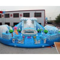 Quality Outdoor Snow world design giant inflatable bouncer jumping castle for sale