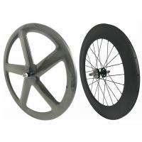3k /12k Full Carbon Fixed Gear Wheelset 700c With Customized Painting Manufactures