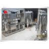 Sand / Carbon Filter Water Purifier Machine , 220v 380v Water Softener Plant Manufactures