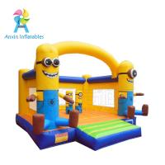 Backyard Kids fairy pink princess inflatable bouncer castle moonwalk combo Manufactures