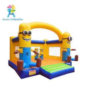 Quality Backyard Kids fairy pink princess inflatable bouncer castle moonwalk combo for sale