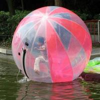 Quality Colorful Transparent Inflatable Walking Ball For Water Amusement Park for sale