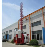 Portable Construction Twin Cage Hoist 2.8T Safety Device Manufactures