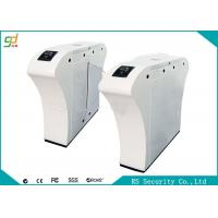 Luxury High Security IR Sensor Flap Barrier Gate Security Entrance Turnstiles Manufactures