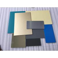 White Lightweight Aluminum Plate Panels , Interior Sheet Metal Wall Panels  Manufactures