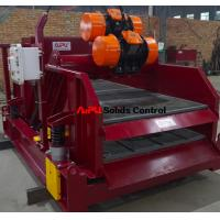 High vibration strenth linear motion shale shaker for oil and gas drilling solids control Manufactures