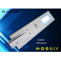 China Infrared Motion Sensor LED Solar Street Lights , Solar Panel Outdoor Lights on sale