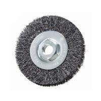 Flexible Bench Grinder Wire Brush Customized Size For Deburring And Descaling Manufactures