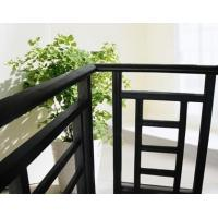 Aluminum Stair Railing For Stairs , Powder Coating / Anodizing Aluminium Exterior Hand Railings Manufactures