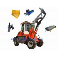 1.2t small loader ZL12F with snow plow Manufactures