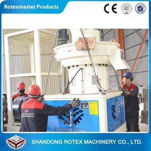 Vertical ring die type good wood pelleting machine 600-800kg/h Manufactures