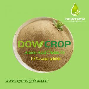 DOWCROP Hot sale High qulity AMINO ACID CHELATED IRON 100% water soluble fertilizer Organic fertilizer Manufactures