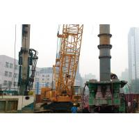 Bored Pile Construction Equipment Hydraulic Rotators With Wired Remote Control Mode Manufactures