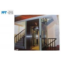 Vibration Proof Residential Home Elevators Machine Room Less Traction Type Max Travel 12M Manufactures