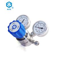 Ammonia Gas Stainless Steel Pressure Regulator With Plunger Valve Core 316L Manufactures