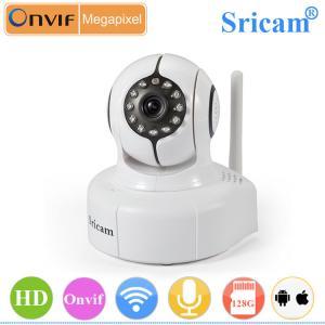 Sricam SP011 H.264 wireless motion sensor hidden 128g recording indoor kamera hd ip Manufactures