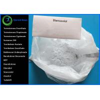Oral Anabolic Steroids Raw White Crystalline Powder  CAS 10418-03-8 Winstrol Stanozolol for Bodybuilding Lean Muscle Manufactures