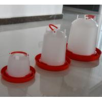 Quality Poultry Farm White Plastic Baby Chicken Waterer & Day Old Chicken Drinker for for sale