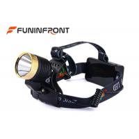 4 Light Gears Micro USB Rechargeable Outdoor LED Headlamp with Music Manufactures
