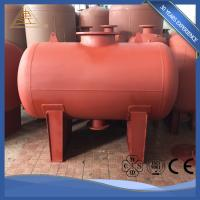 Welded Carbon / Stainless Steel Potable Water Storage Tanks Industrial Insulated Manufactures