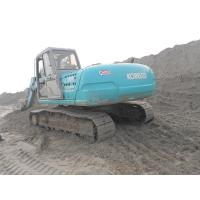 Quality Original Turbo Used Kobelco Excavator SK200 - 6 Earth Moving With Hammer for sale