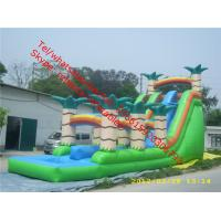 inflatable pool park   inflatable slides Manufactures