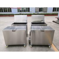 Kitchen Hood Stainless Steel Soak Tank Degreasing / Cleaning Insert Filters 110 / 230V 50Hz Manufactures