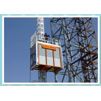 Heavy Duty Construction Passenger Hoist , Material Lift And Elevator Manufactures