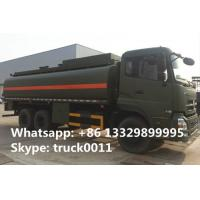 dongfeng tianlong 6*4 20cbm-25cbm oil tank truck for sale,factory sale dongfeng 20,000Liters military diesel tank truck Manufactures