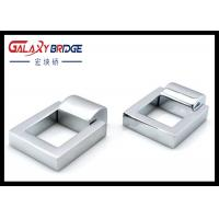Classical Square Cabinet Ring Pulls , Single Hole Kitchen Cupboard Ring Pulls Window Pulls Manufactures