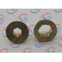 Precise Turned Metal Parts  Brass Positioning Nuts Fit Electrical Equipments Manufactures