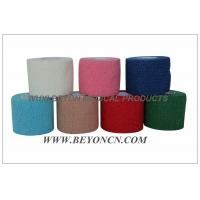 Cotton Self - adhesive Flexible Bandage Latex-free Hand Tearable Manufactures
